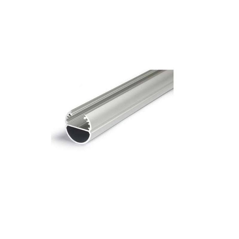 Profilé Ovale Aluminium Anodisé 1m...