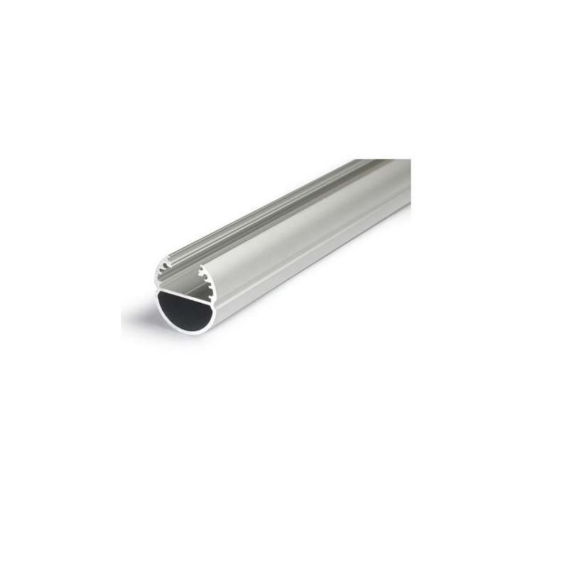 Profilé Ovale Aluminium Anodisé 2m...