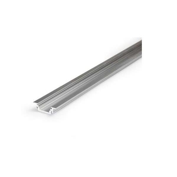 Profilé Rainure Aluminium Brut 1m pour Ruban LED 10mm