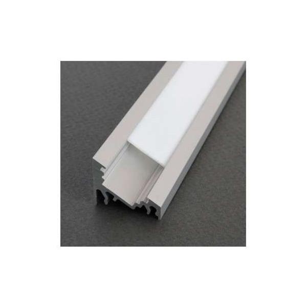 Profilé Angle 30/60° Aluminium Anodisé 2m pour Ruban LED 10mm