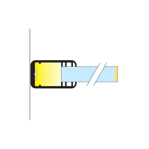 Profilé Glass Line Aluminium Anodisé 2m pour Ruban LED 14mm