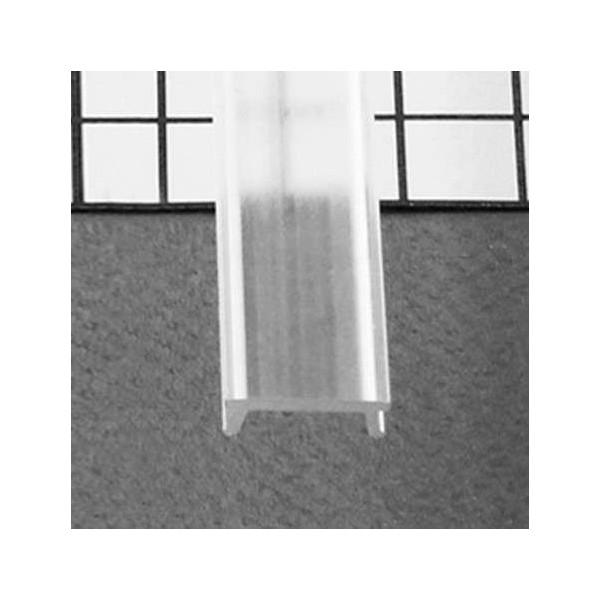 Diffuseur Clip Transparent 2m pour Profilé LED 15,4mm