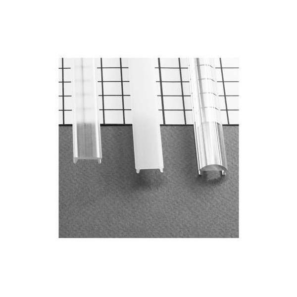 Diffuseur Clip Blanc 2m pour Profilé LED 15,4mm