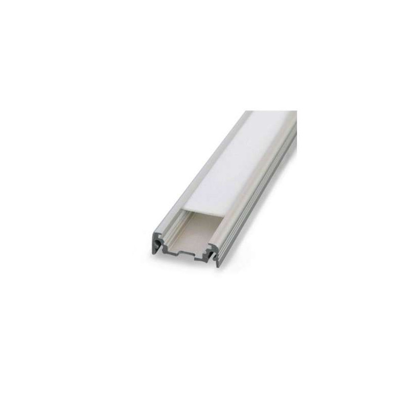 Profilé Plat Aluminium Brut 1m pour...
