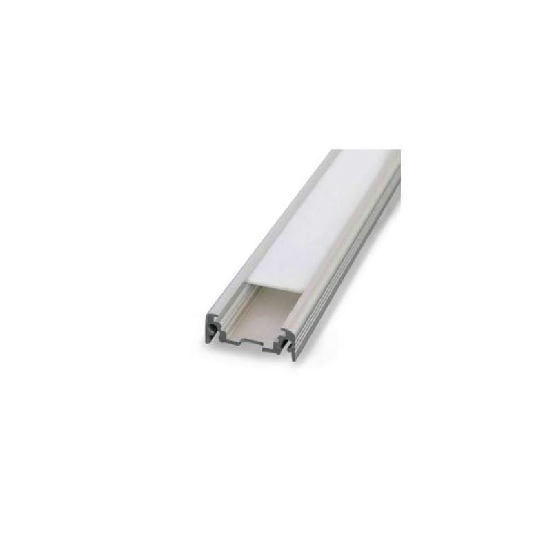 Profilé Plat Aluminium Brut 2m pour...