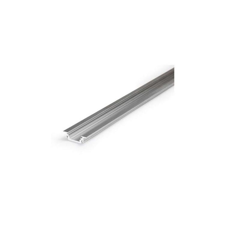 Profilé Rainure Aluminium Brut 2m...