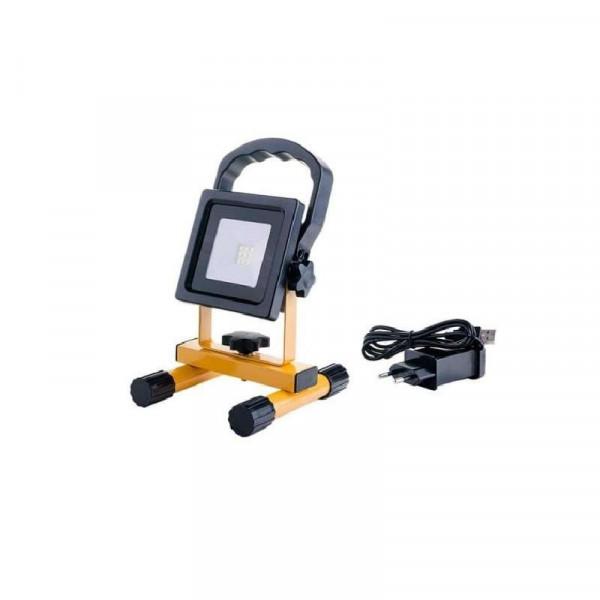 Projecteur Portable LED SMD 10W avec Batterie
