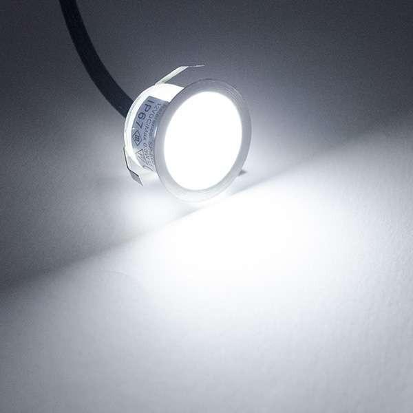 Petit spot LED extérieur étanche encastrable