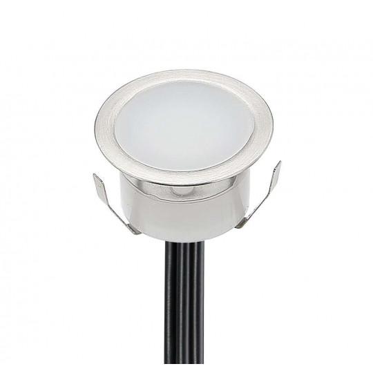 Kit de Petits spots LED 0,3W Extérieur Encastrable