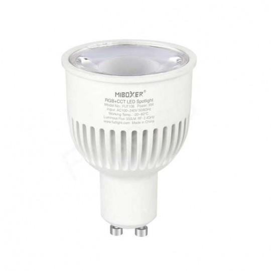 Spot LED RGB+CCT GU10 6W...