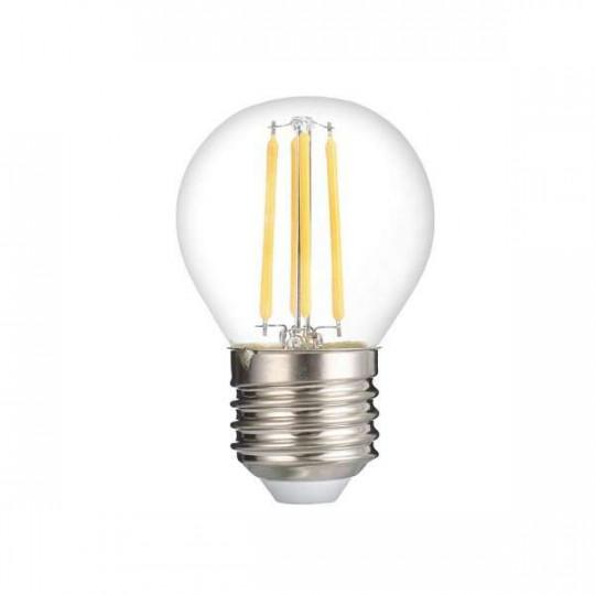 Ampoule LED G45 Filament 4W Dimmable E27 Blanc Chaud 2700K