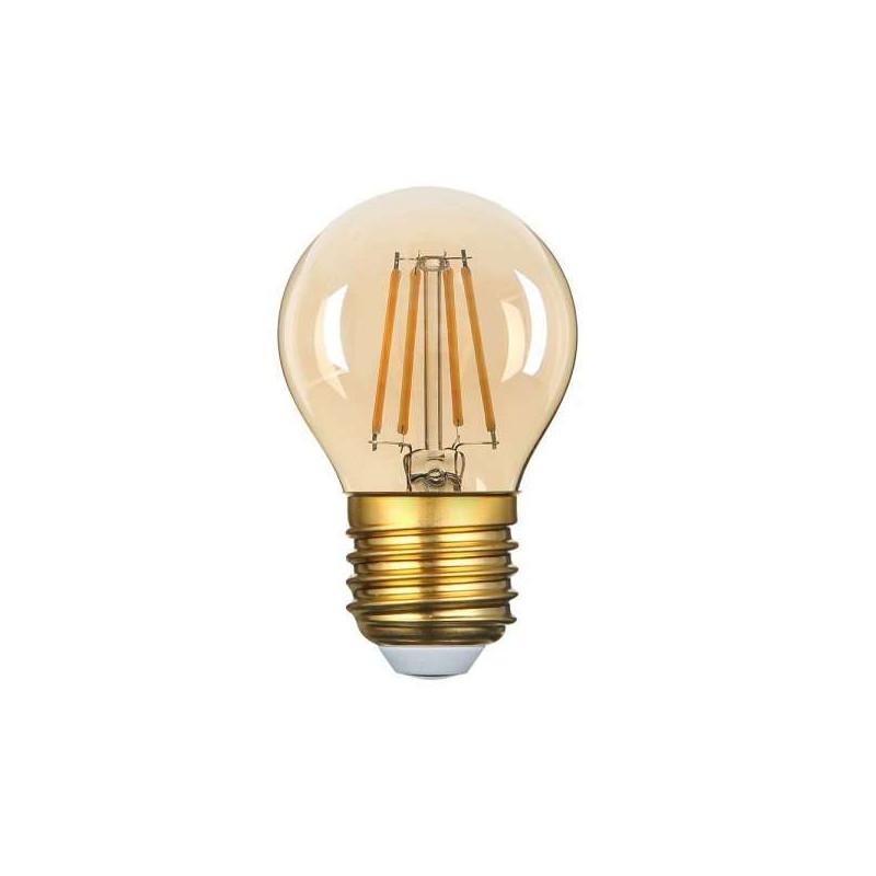 Ampoule LED G45 Filament 4W Golden...