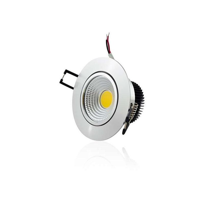 Plafonnier encastrable LED 5W COB - éclairage 40W