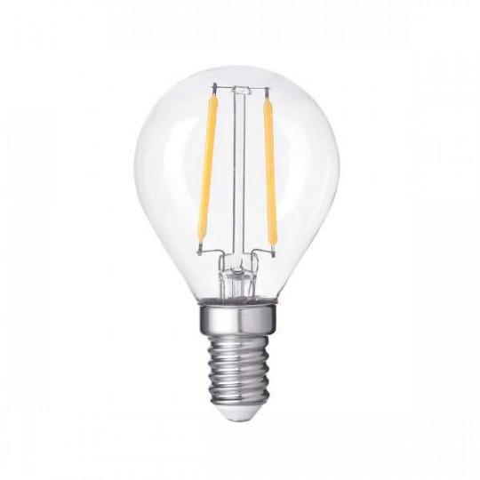 Ampoule LED G45 Filament 4W Dimmable E14 - Blanc Chaud 2700K