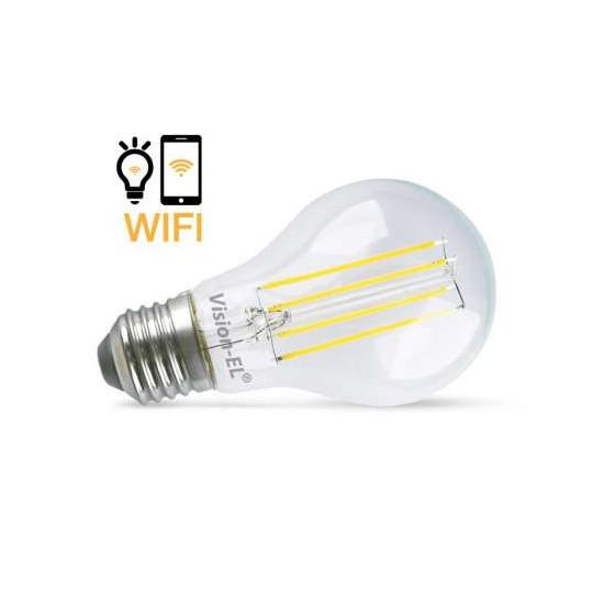 Ampoule LED Connectée WIFI 7W Dimmable E27 Blanc Neutre 4000K