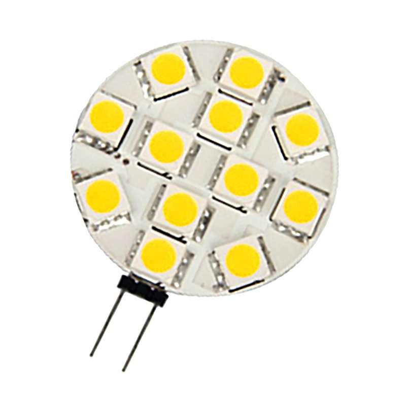 Ampoule LED G4 2,4W Ronde lumière 20W