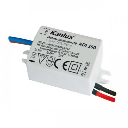 Alimentation Electronique LED 1-3W IP20