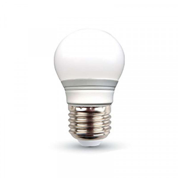 Ampoule E27 LED 4W Globe (équivalent 30W)
