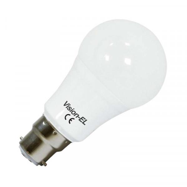 Ampoule LED B22 12W Ronde éclairage 100W