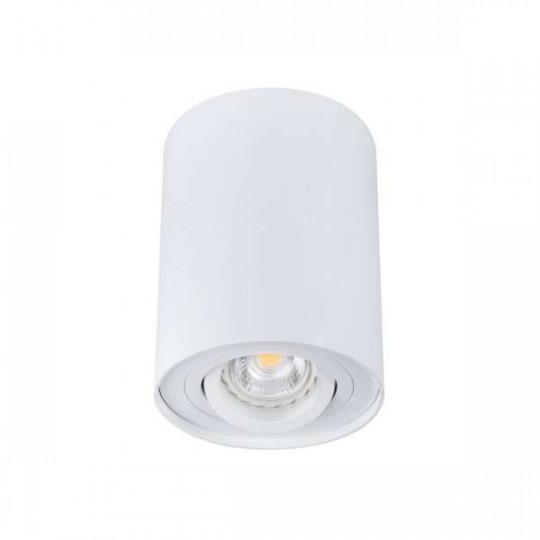 Plafonnier en Saillie BORD Simple GU10 Orientable - Blanc