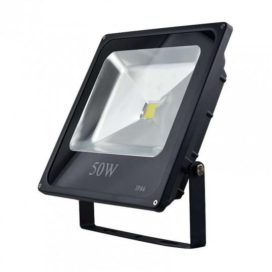 Projecteur RGB 50W fin avec télécommande Infrarouge (250W)