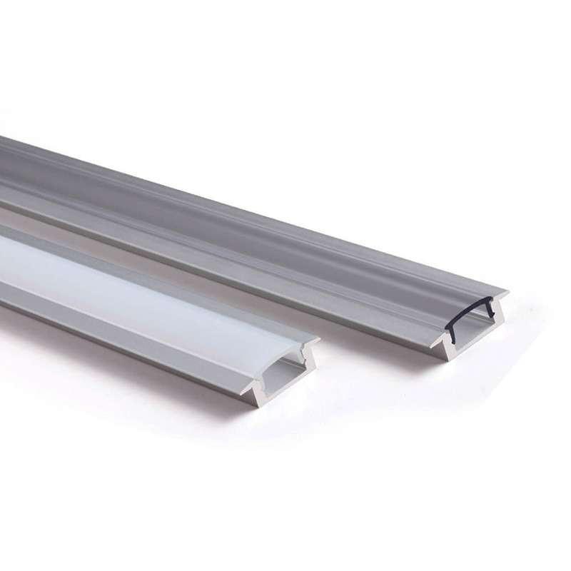 Profilé aluminium encastrable fin 7mm RSL7