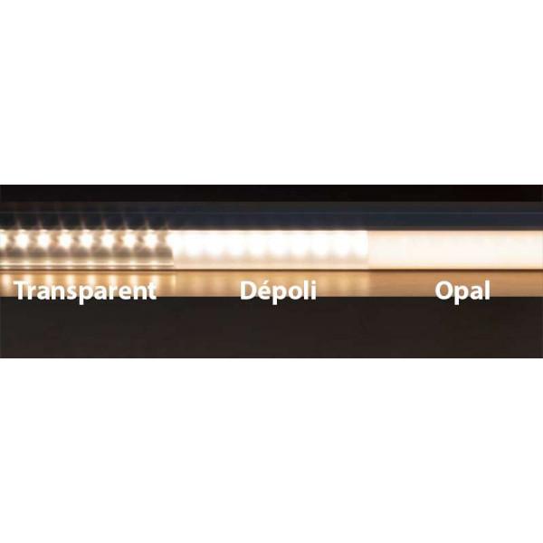Diffuseur Dépoli 12,2mm LEDsOn