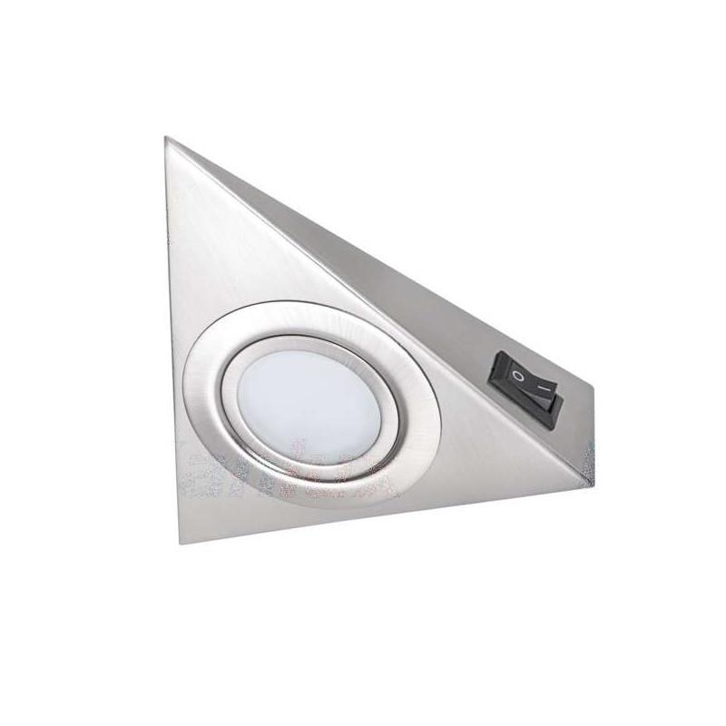 Luminaire pour Meuble Chrome Mat avec...