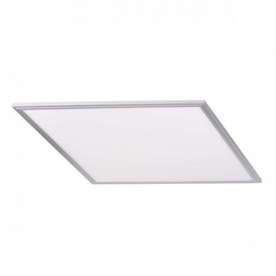 Dalle LED BRAVO 40W Cadre Argent 600x600mm Blanc Neutre 4000K