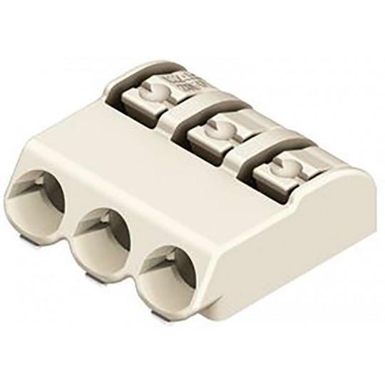 Bornier de connexion 4mm, 2 Voies 0.75 mm², Poussoir