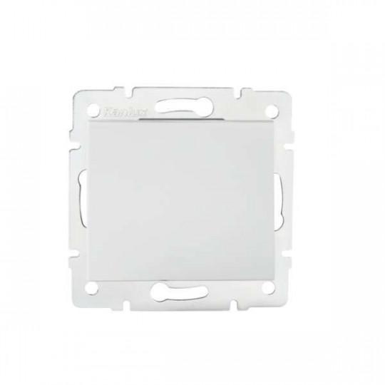 Interrupteur Encastrable Simple LOGI Blanc