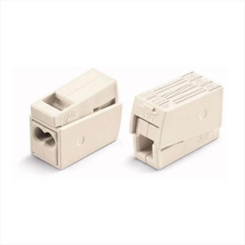 Connecteur pour fil souple fil rigide 2x1.0-2,5mm²