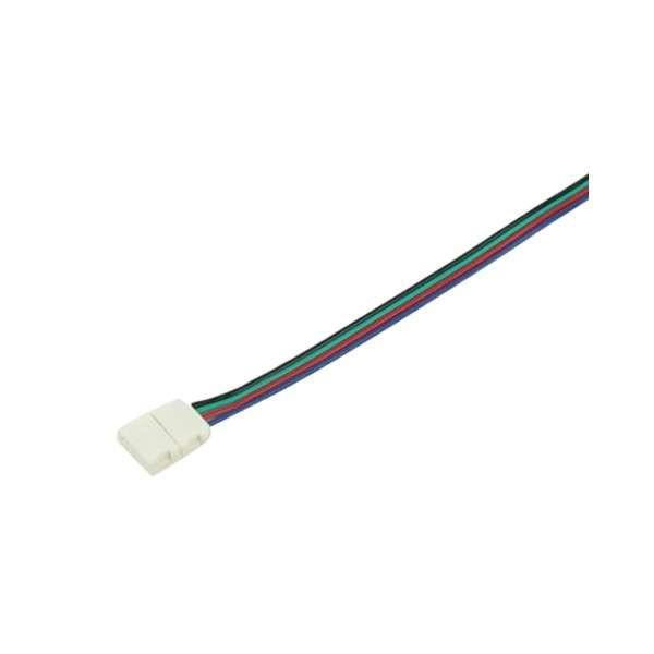 Raccord pour ruban LED RGB 12mm - 15cm