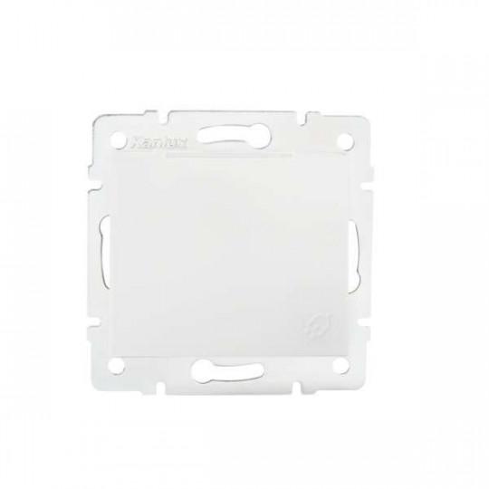 Prise avec Clapet Étanche IP44 Encastrable DOMO Blanc