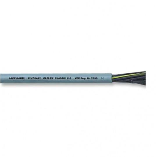 Câble Souple Multi-brins Non Blindé 4 Conducteurs 0,75mm² 19AWG