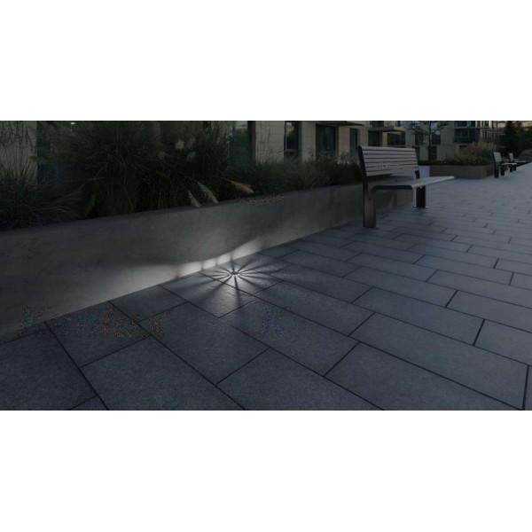 Borne LED encastrable sol 1W lumière 10W étanche - Blanc du jour 6000K