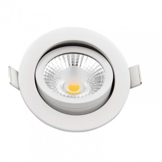 Spot encastrable 8W LED dimmable équivalent 70W