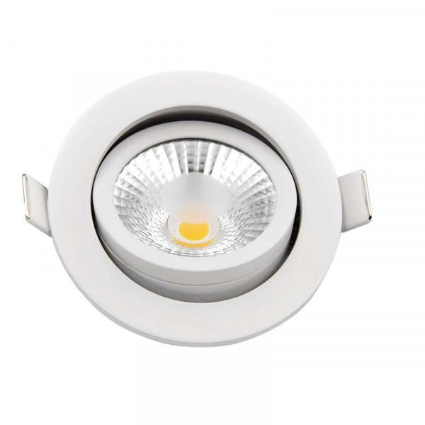 Spot encastrable 8W LED dimmable équivalent 70W
