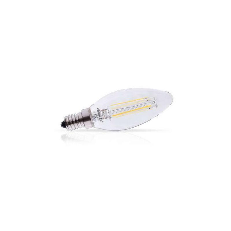 Ampoule LED E14 Filament 4W flamme...