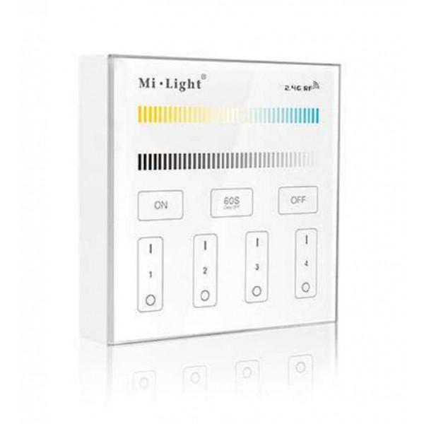 Contrôleur LED CCT (WW - CW) tactile sans fil