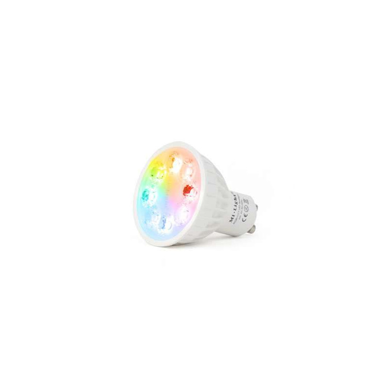 Spot LED RGB+CCT GU10 4W pilotable...