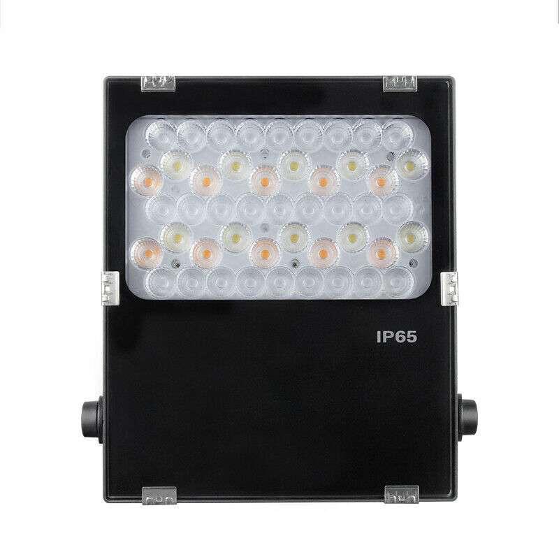 Projecteur LED RGB+CCT 50W pilotable...
