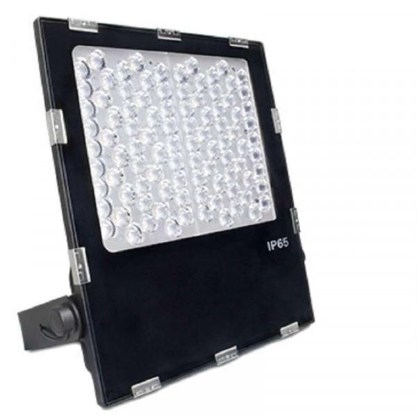 Projecteur LED RGB+CCT 100W pilotable avec lentille FUTC06