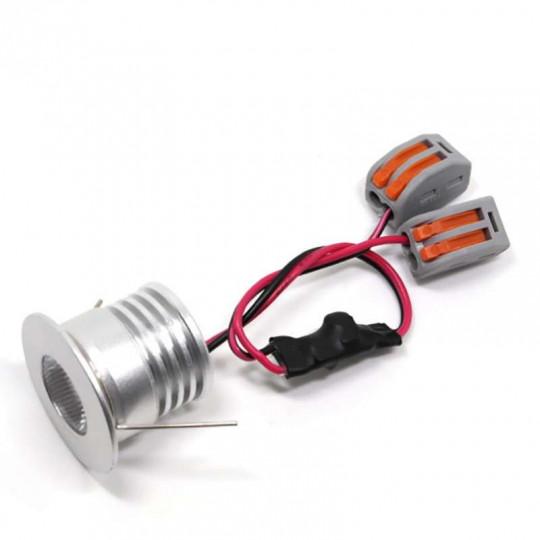 Spot LED encastrable compact 4W 12 Volts équivalent 30W