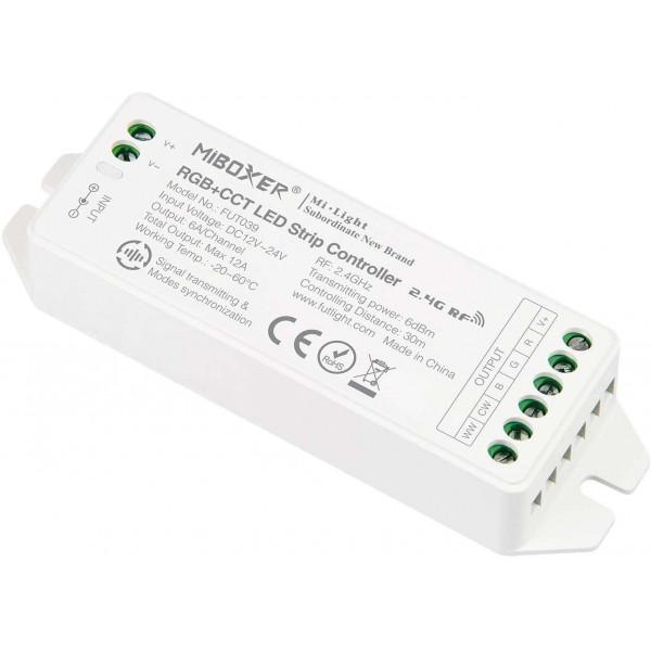 Contrôleur LED Radiofréquence RGB+CCT  Mi-Light 039