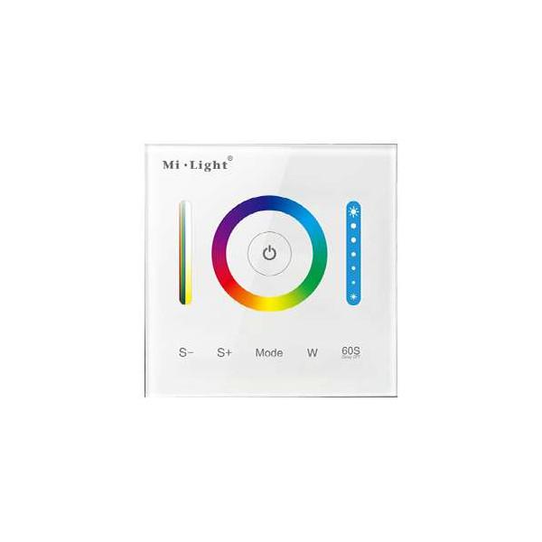 Contrôleur LED RGB, RGBW, RGB+CCT tactile Mi-Light P3
