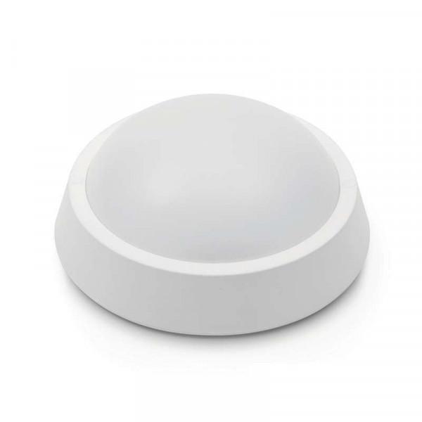 Applique LED de plafond 13W Ronde étanche IP65 650lm - Blanc Chaud 2700K
