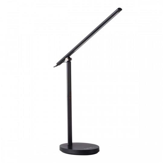 Lampe de bureau LED 7W CCT REXAR Noire avec Port USB