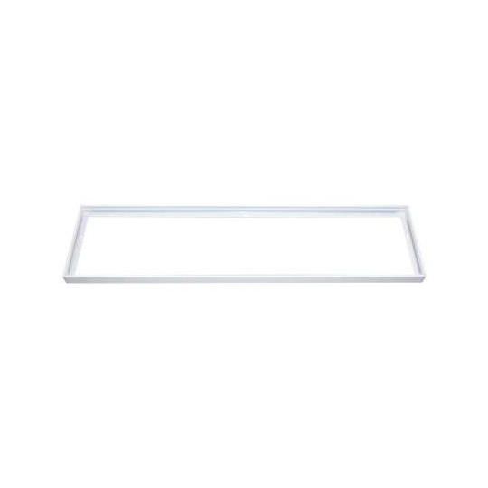 Kit Saillie pour Dalle LED 1200 x 300mm Aluminium Blanc