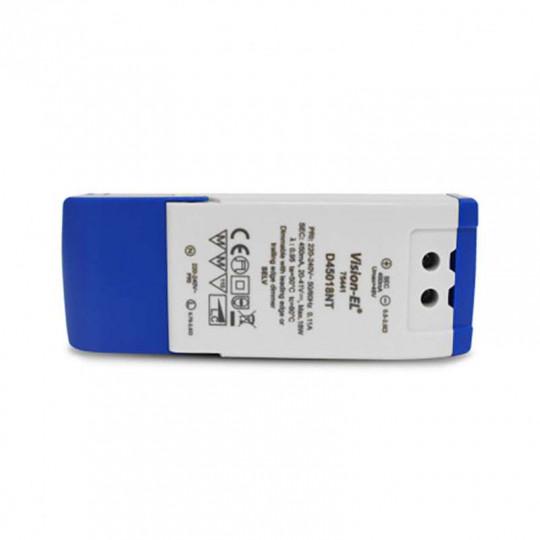 Alimentation LED 18W Dimmable 12-41V 450mA IP20